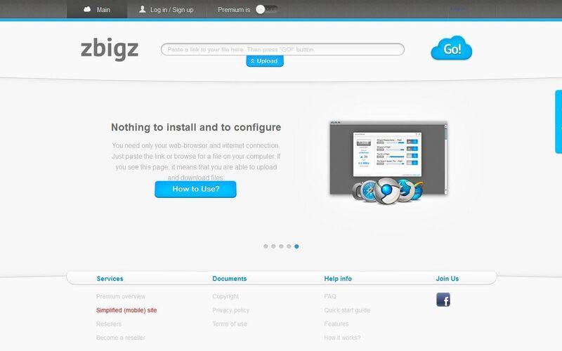 Скриншот 1 программы ZbigZ