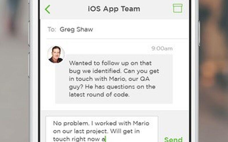 Скриншот 1 программы Upwork