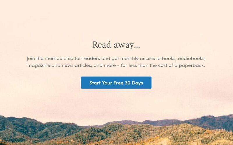 Скриншот 1 программы Scribd