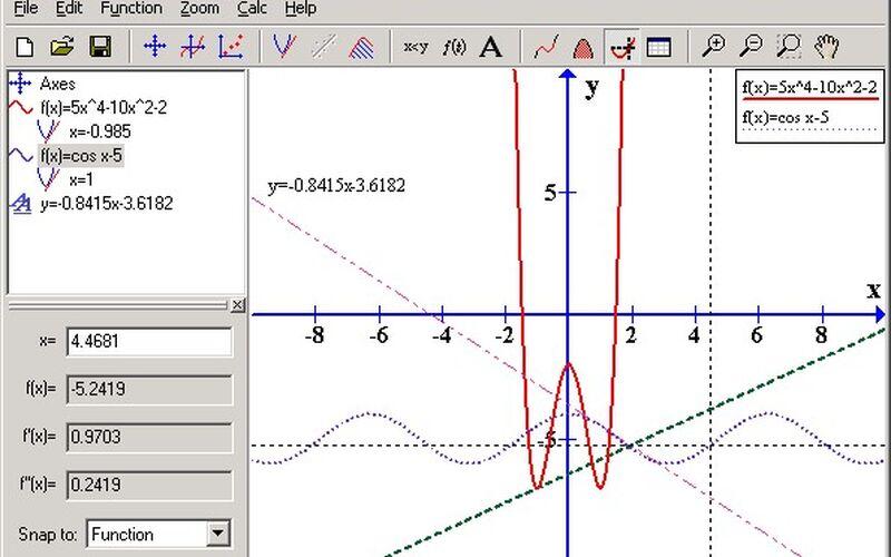 Скриншот 1 программы Graph