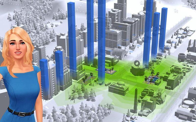 Скриншот 1 программы SimCity BuildIt