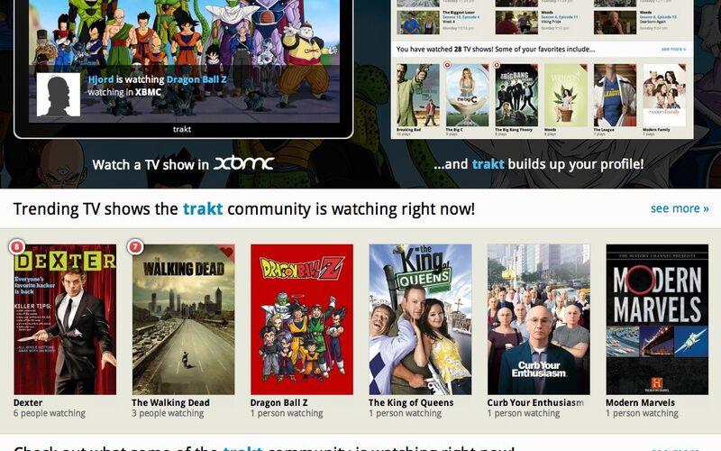 Скриншот 1 программы Trakt.tv