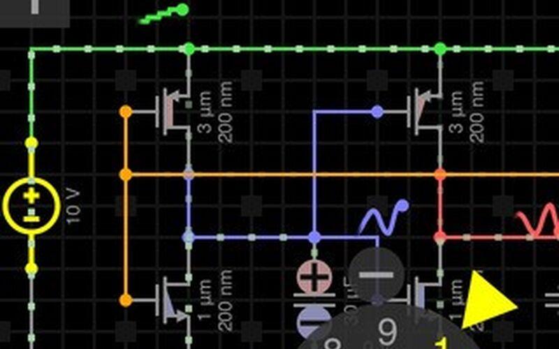 Скриншот 1 программы Everycircuit