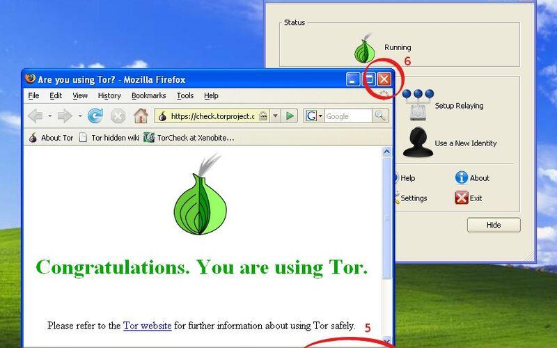 Скриншот 1 программы Tor Browser