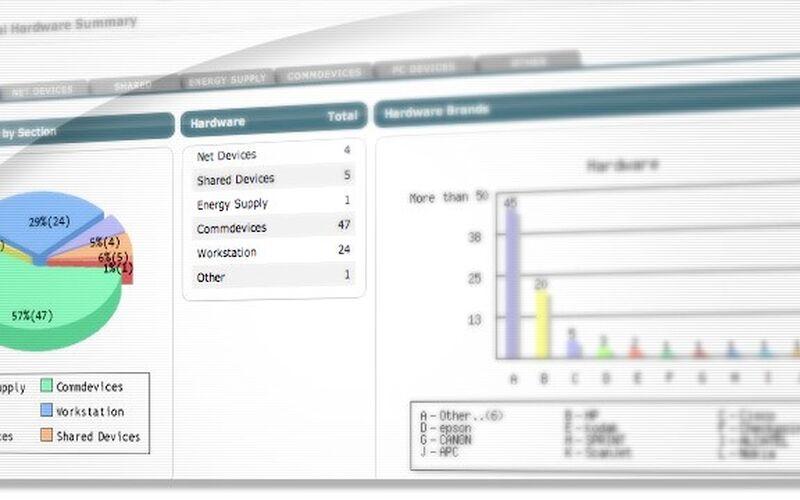 Скриншот 1 программы InvGate Assets