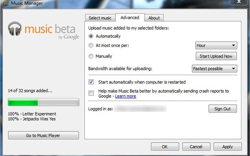 Скриншот 1 программы Google Play Music