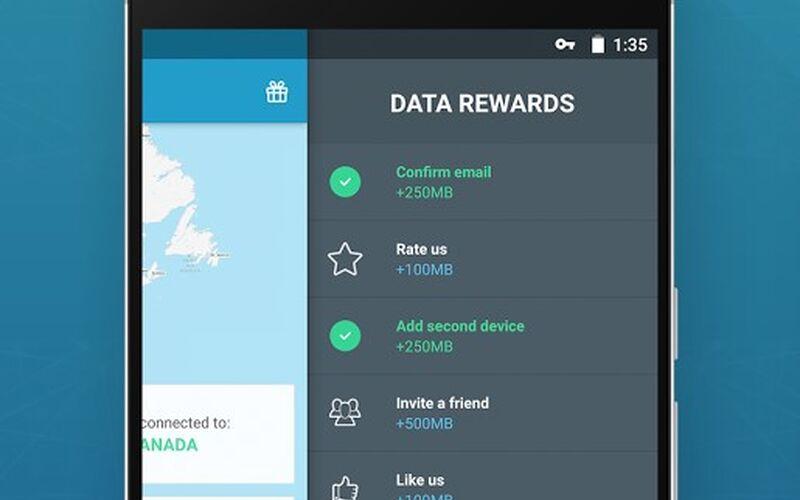 Скриншот 1 программы SurfEasy VPN