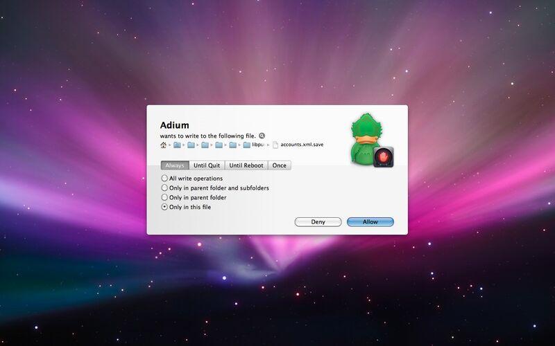 Скриншот 1 программы Hands Off!