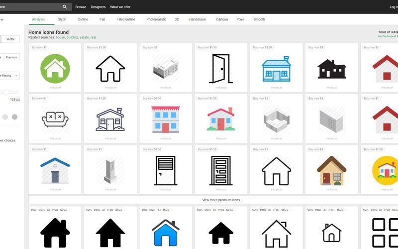 Скриншот 1 программы Iconfinder