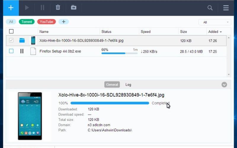 Скриншот 1 программы Free Download Manager