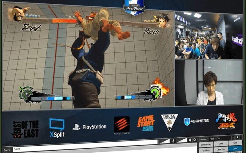 Скриншот 1 программы XSplit Broadcaster