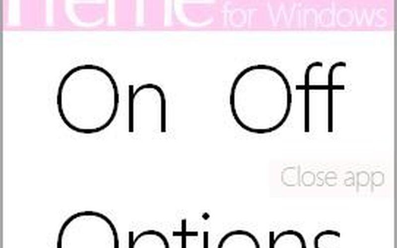Скриншот 1 программы Preme for Windows
