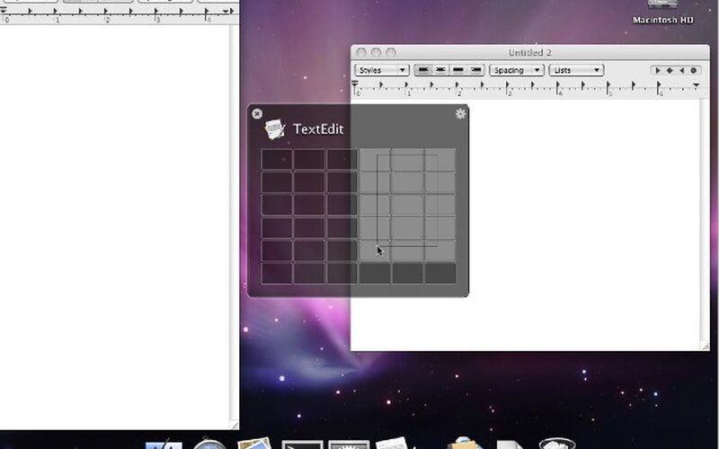 Скриншот 1 программы Divvy