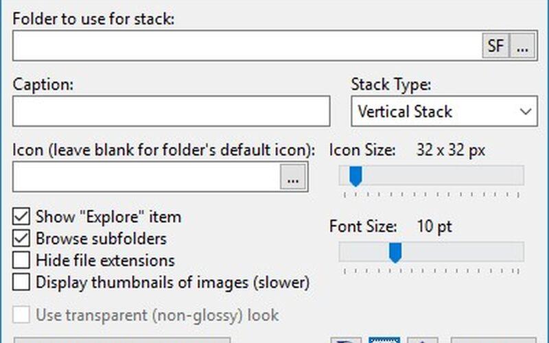 Скриншот 1 программы 7stacks