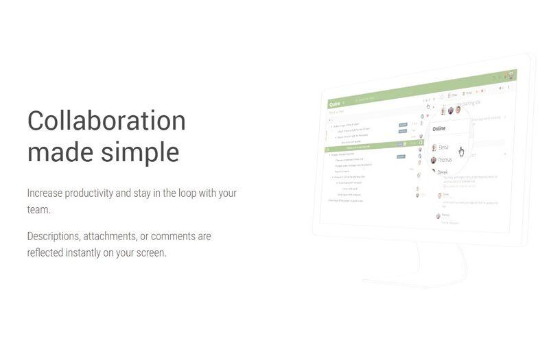 Скриншот 1 программы Quire