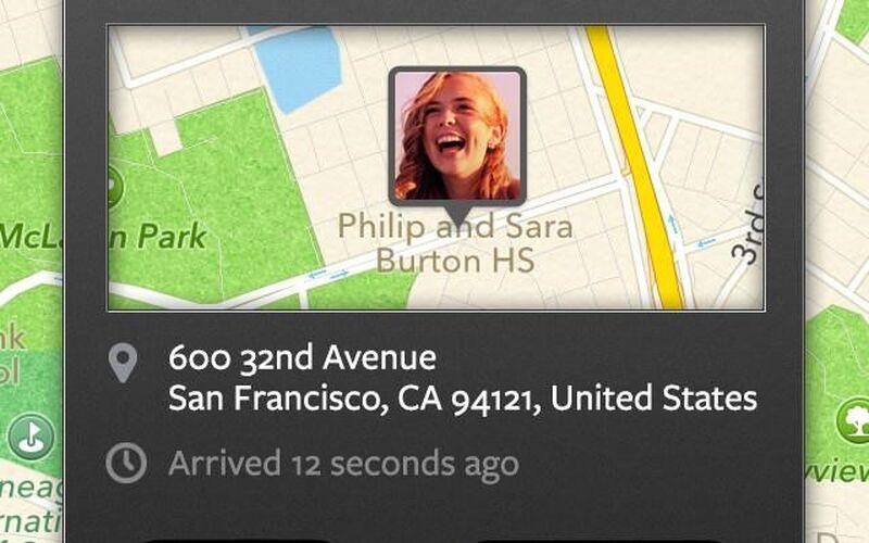 Скриншот 1 программы Life360 Family Locator