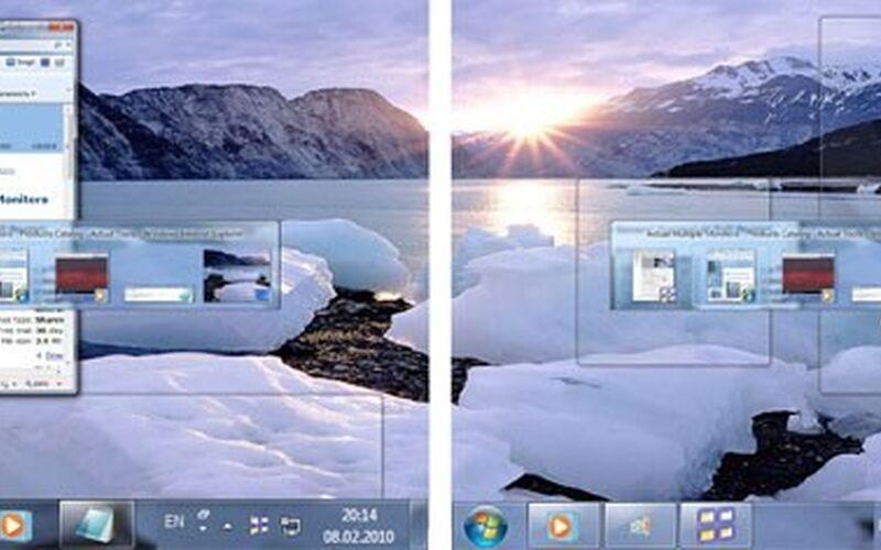 Скриншот 1 программы Actual Multiple Monitors