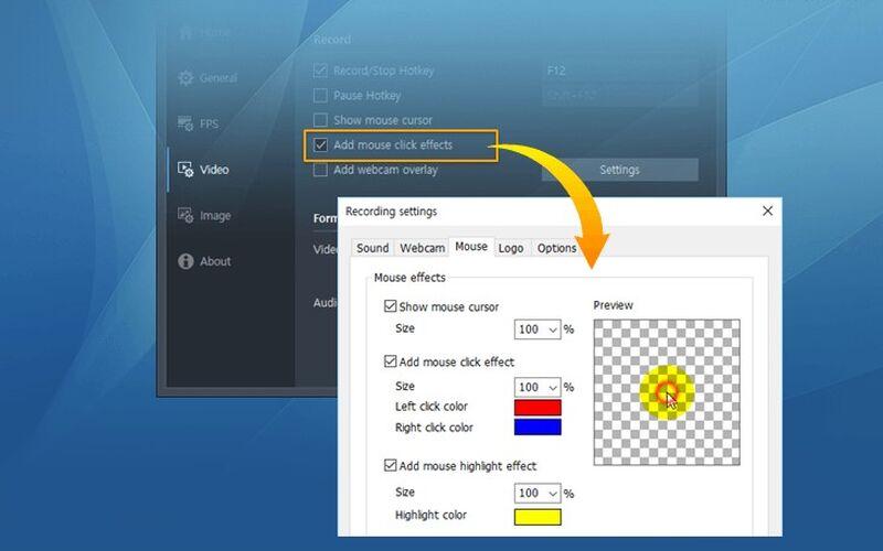 Скриншот 1 программы Bandicam Screen Recorder