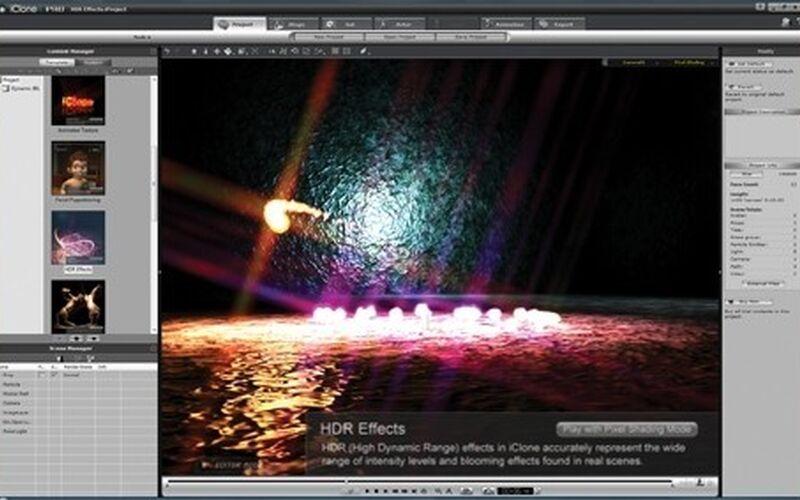Скриншот 1 программы iClone