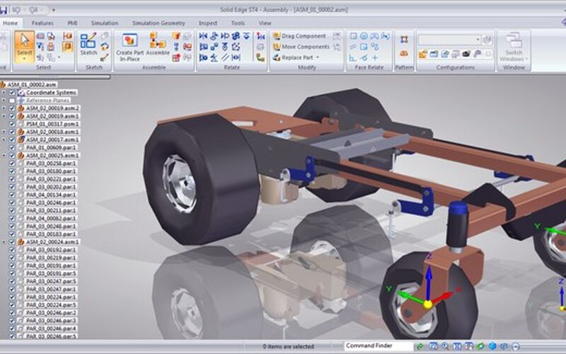 Скриншот 1 программы Solid Edge