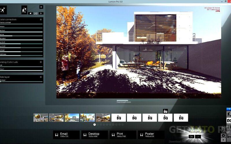 Скриншот 1 программы Lumion