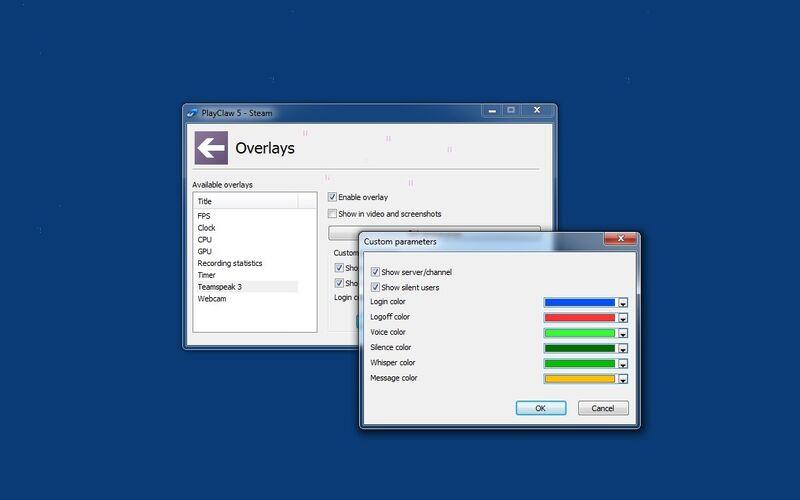 Скриншот 1 программы PlayClaw