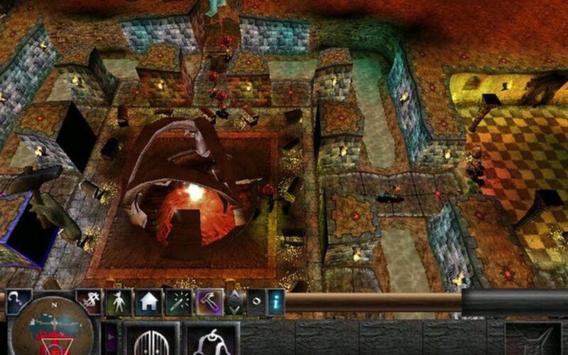 Скриншот 1 программы Dungeon Keeper 2