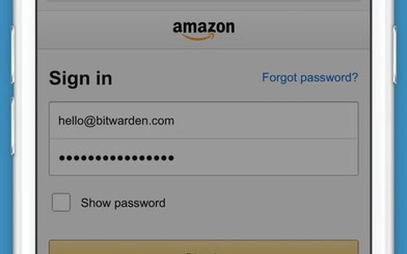 Скриншот 1 программы bitwarden