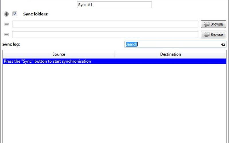 Скриншот 1 программы Synkron