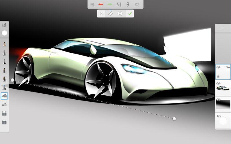 Скриншот 1 программы Autodesk SketchBook