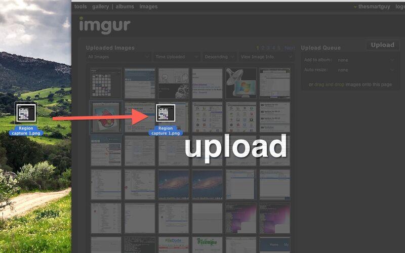 Скриншот 1 программы Imgur