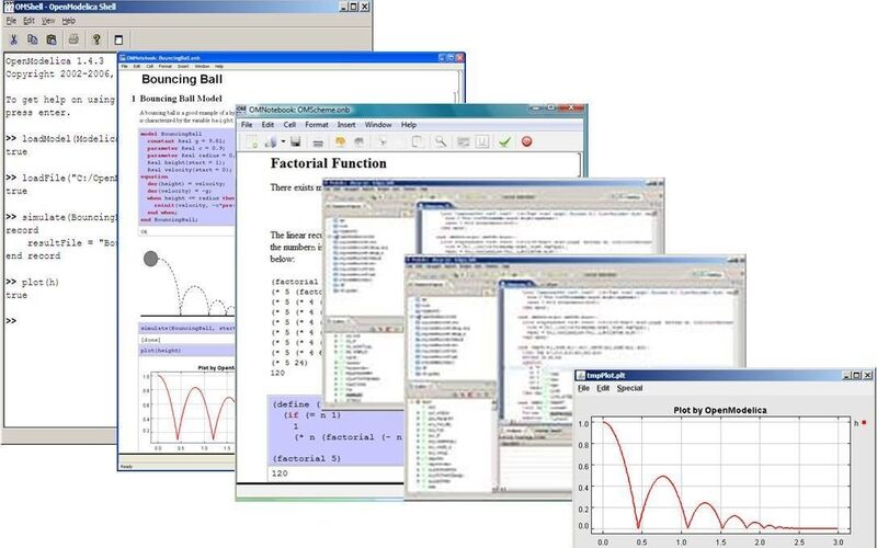 Скриншот 1 программы OpenModelica