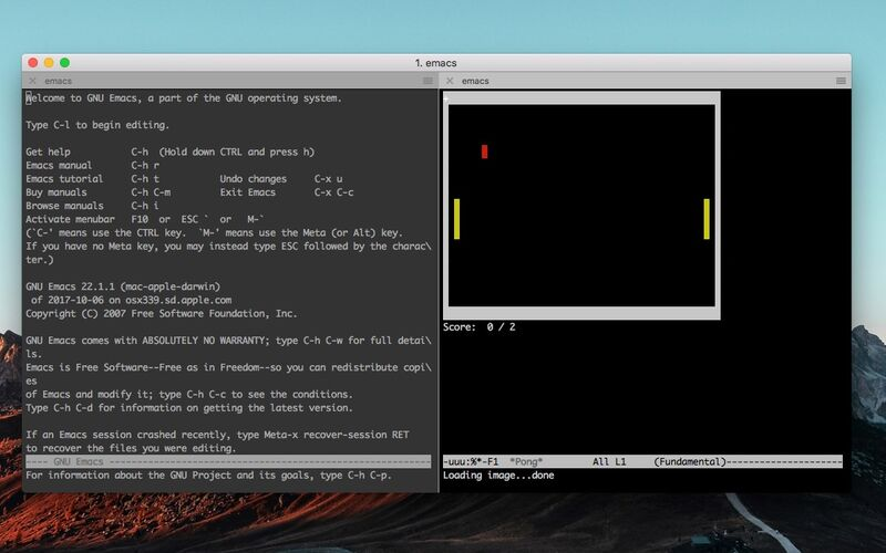 Скриншот 1 программы iTerm2