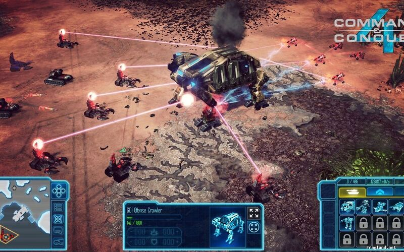Скриншот 1 программы Command and Conquer