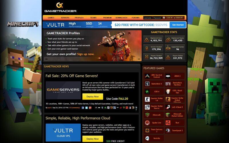 Скриншот 1 программы GameTracker