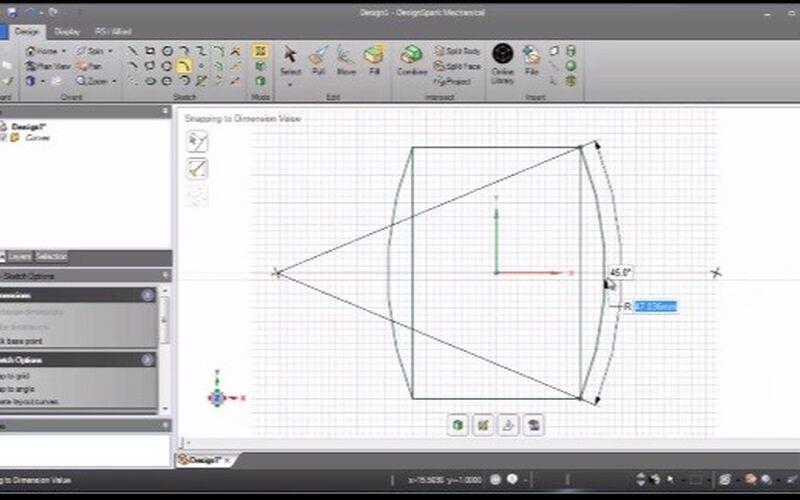 Скриншот 1 программы Designspark Mechanical
