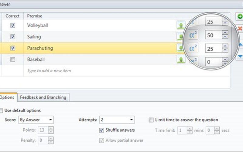 Скриншот 1 программы iSpring QuizMaker