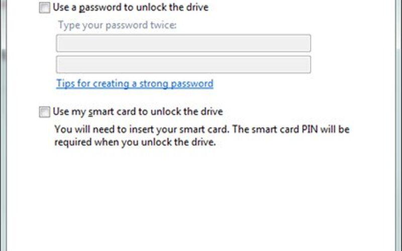 Скриншот 1 программы Windows BitLocker