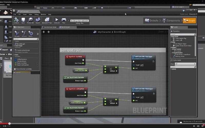 Скриншот 1 программы Unreal Engine