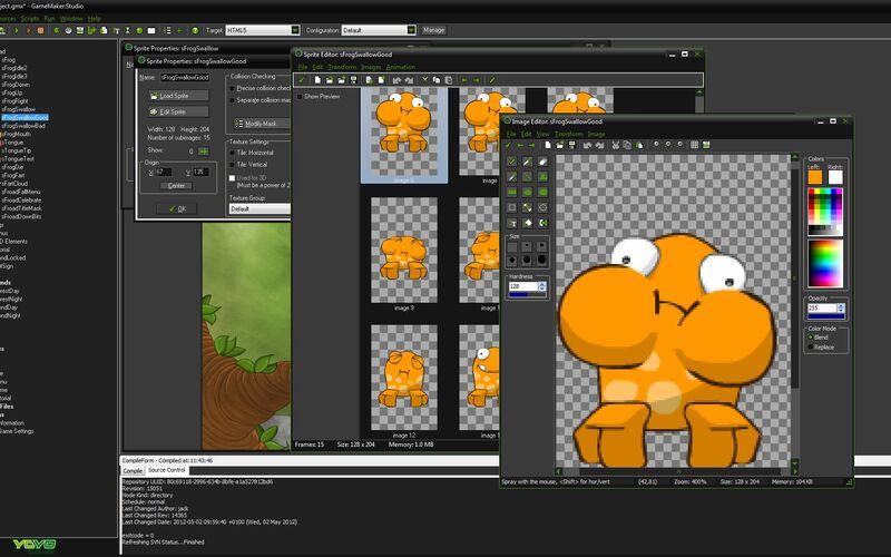 Скриншот 1 программы GameMaker: Studio
