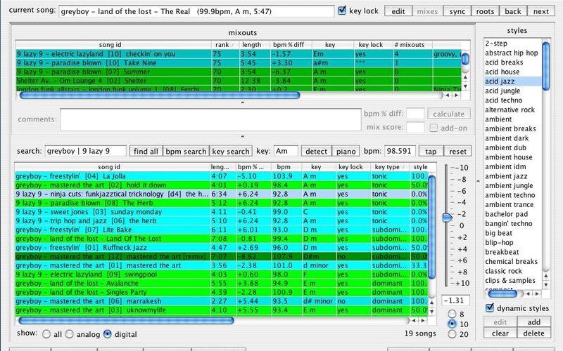 Скриншот 1 программы Rapid Evolution
