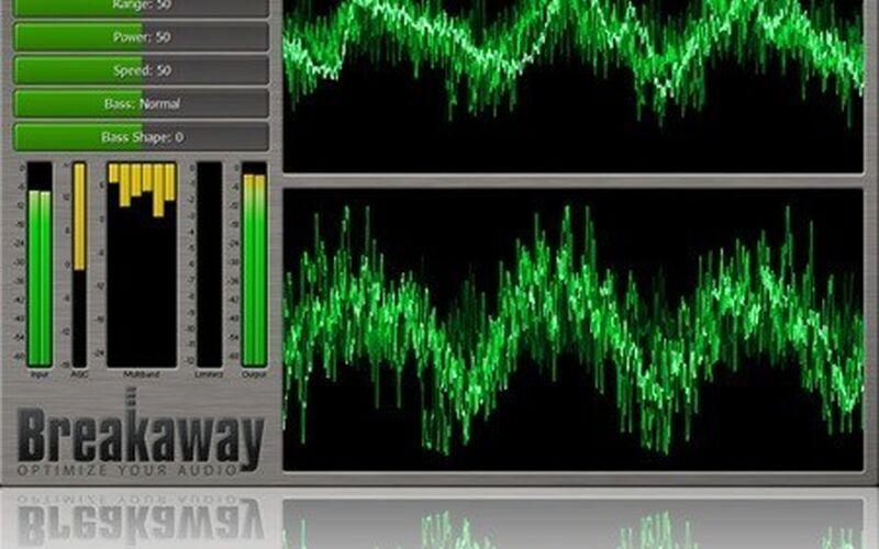 Скриншот 1 программы Breakaway Audio Enhancer