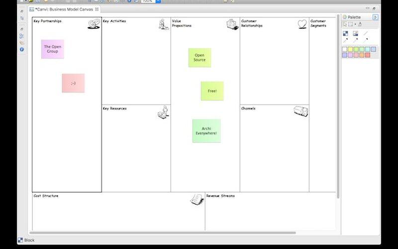 Скриншот 1 программы Archi
