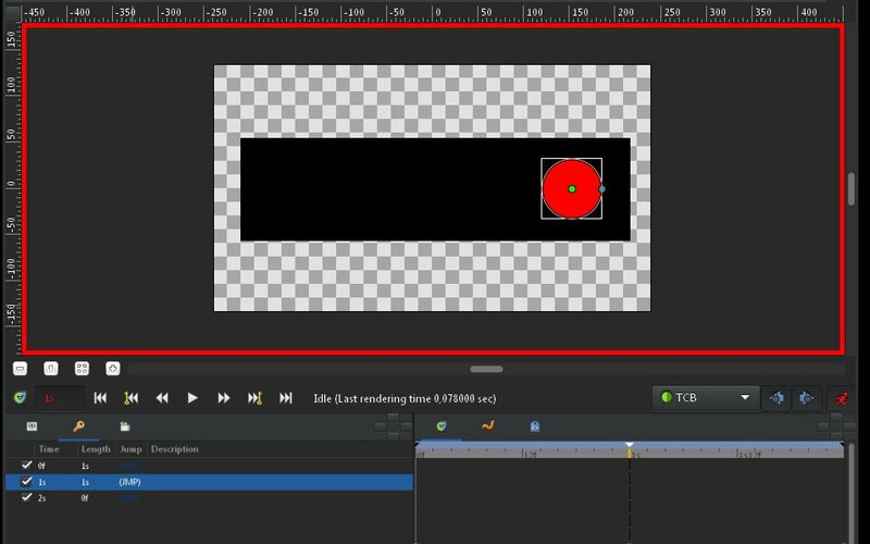 Скриншот 1 программы Synfig Studio