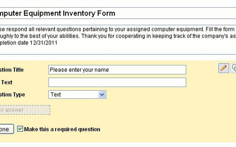 Скриншот 1 программы Google Drive - Forms