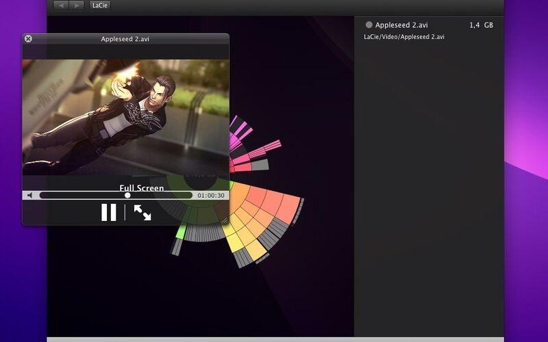 Скриншот 1 программы DaisyDisk