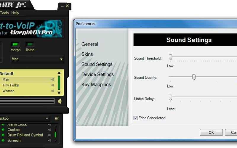 Скриншот 1 программы MorphVOX Junior