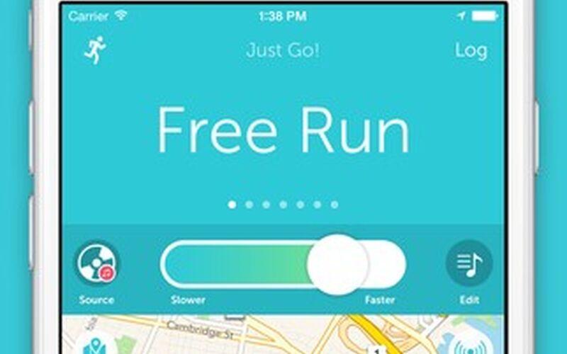 Скриншот 1 программы RunKeeper
