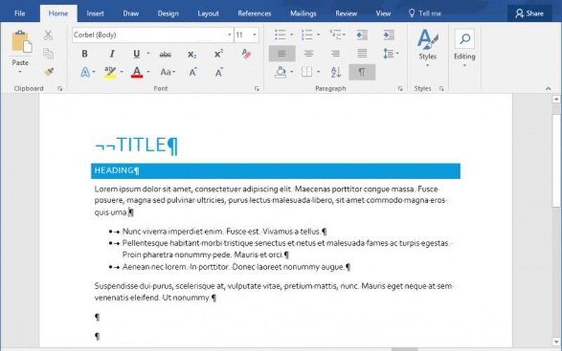 Скриншот 1 программы Microsoft Office Word