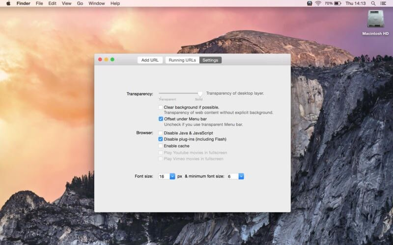 Скриншот 1 программы Desktopr